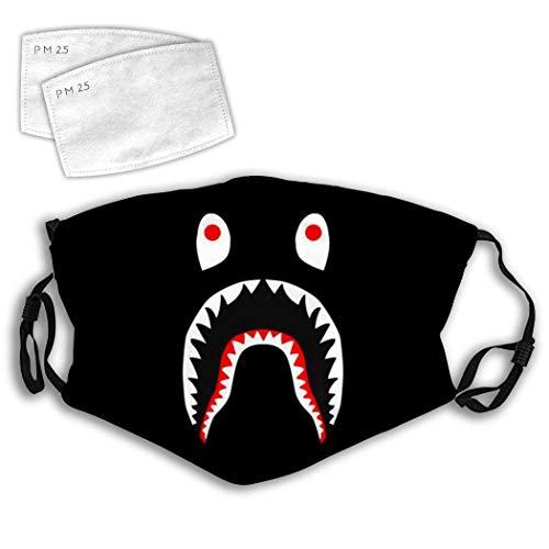 Black Ba-pe Sh-ark Anti-Dust Anti-Pollution Windproof Cover