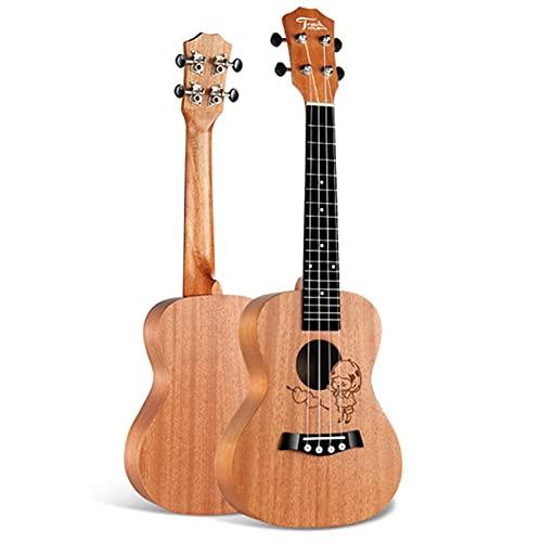 YSTSPYH Ukelele Ukulele para Principiantes para Adultos para Adultos tenorista Soprano uke 23 Pulgadas 4 Cuerdas Hawaii Mini Guitarra (Color : Girl uke, Size : 23 Inches)
