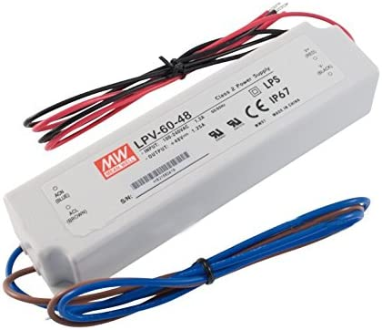 Mean Well LPV-60-48 60W 48V 1.25A Excellence Supply Power LED Water Driver Selling and selling