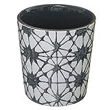 iDiffusion - Tazza con design rotondo, Shibori, 190 ml, colore: Grigio