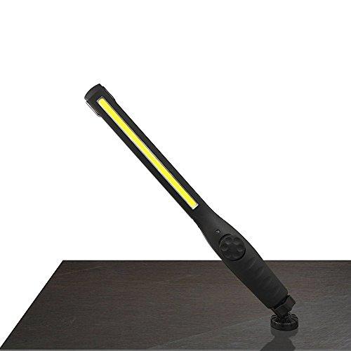 Ccykmman 作業灯 LED ワークライト ハンディライト 強力USB充電式 スティックライト 照明モード 視力保護 省エネ携帯 便利 マグネットとクリップ付きキャンプ アウトドア 工事現場 車載用 ペンライト