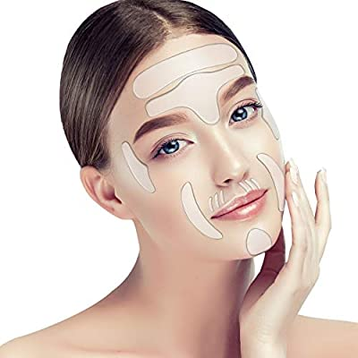 16 Pieces,Face wrinkle Patches, Reusable Anti-W...
