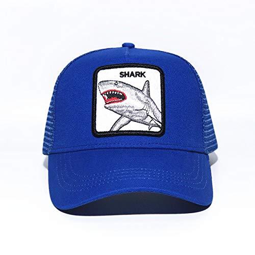 Gorra de Red de béisbol de Dibujos Animados para Hombres Sombrero de Primavera Verano sombrilla tamaño Ajustable Gorra de Conductor de Vacaciones-Yellow