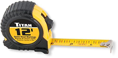 Titan 10904 12 Foot Tape Measure