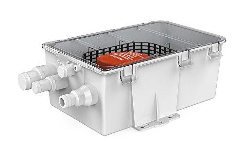 Seaflo 750GPH pompsysteem voor de douchebak, 12 V, 3,0 A, afvoerset, met meerdere aansluitingen, automatisch, met vlotterschakelaar