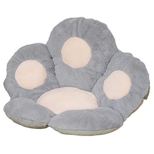 Katzenklauen-Sitzkissen,Kissen Baumwollmaterial Winter-Plüsch-Pfoten-Kissen,Sofa-Rückenkissen Kissen Dicker Plüsch Innen- und Außendekoration, für Leseecke, Schlafzimmer, oder Fernsehen 60 x 65 cm