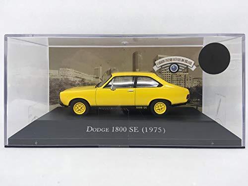 Miniatura Dodge 1800 SE 1975 - Carros Inesqueciveis do Brasil