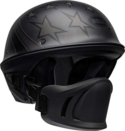 Bell Rogue Half Helmet (Honor Matte Titanium Black - 2X-Large)