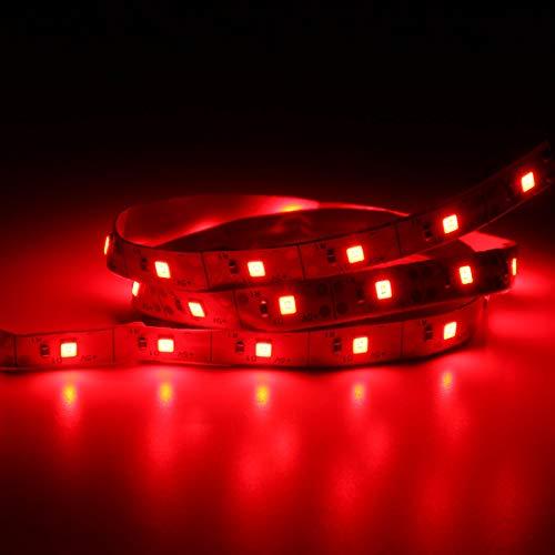 Modulo electronico 0. 5M SMD2835 No-impermeable USB LED Luz de la fiesta de la tira PC DE TV Fondo de fondo de fondo (Color : Red)