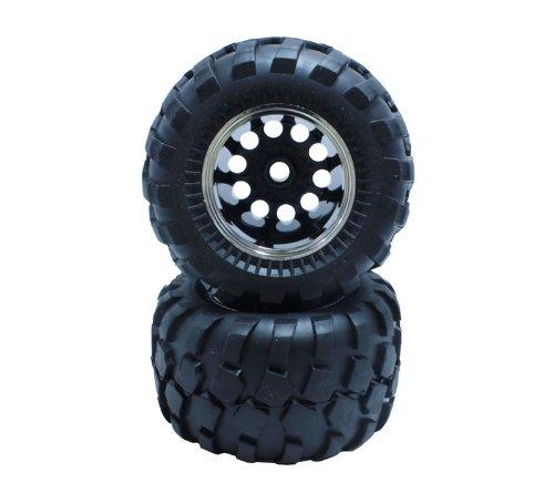 Bloc motif pneu plaque jeu de roues de jante (WR02.CW01 pour l'avant / adhesif dejà) NO-648