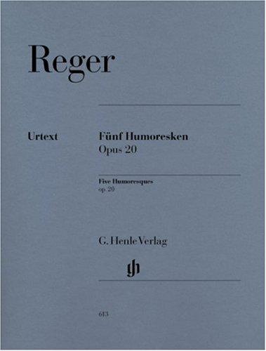 5 Humoresken Op 20. Klavier