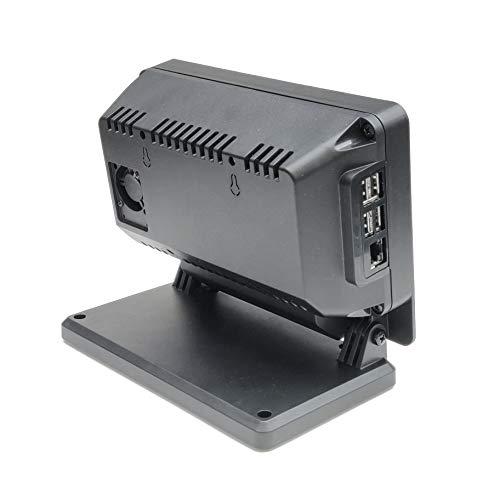 SmartiPi Touch Pro Schutzhülle für Raspberry Pi 17,8 cm (7 Zoll), groß, Schwarz