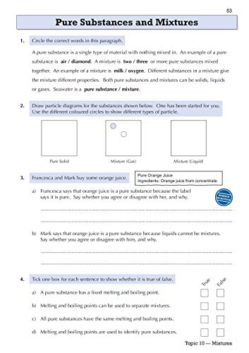 KS3 Science Year 7 Targeted Workbook (with answers) (CGP KS3 Science)