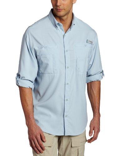 Columbia Tamiami II - Camisa de Manga Larga para Hombre (Talla Grande), Mirage, 3X
