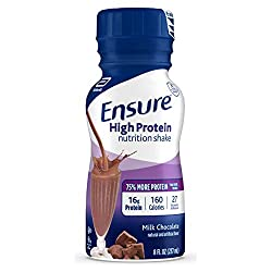 Ensure High Protein Nutritional Shake with 16g of High-Quality Protein, Ready-to-Drink Meal Replacem