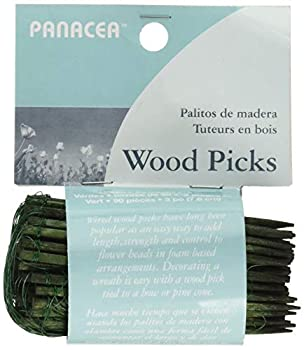 Panacea Products 60043 Floral Picks 3 Inches 90 Pieces Green