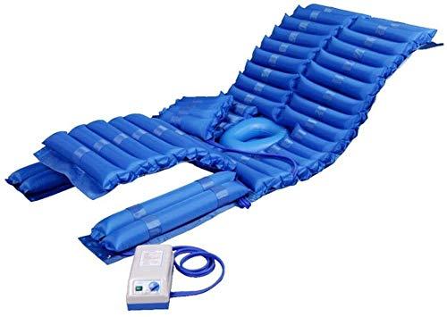 WKDZ Alternierende Druckmatratze & Pumpensystem Aufblasbare Pad Performance Entlastung für Bettwache/Ulkus Prävention/bedrohter Behandlung 1218 (Color : Blue, Size : 1950x900mm)