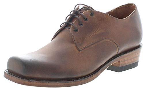 Sendra Boots Unisex Schuhe 530 Tang Lederschuhe Schnürschuhe Braun 46 EU
