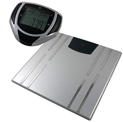American Weigh Scales bioweigh-ir – Personenwaage (LCD, Silber, 30 cm, 31 cm, 1,78 cm, AAA)