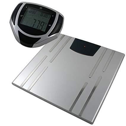 American Weigh Scales bioweigh-ir–Personenwaage (LCD, Silber, 30cm, 31cm, 1,78cm, AAA)