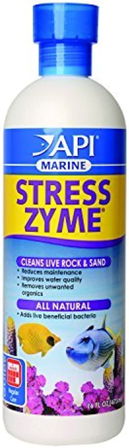 API Marine Stress Zyme for Aquarium, 16 oz by API