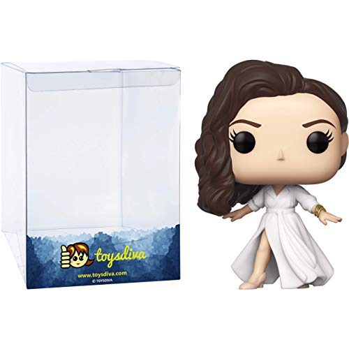 Diana Prince Gala: Funk o Pop! Heroes Vinyl Figure Bundle with 1 Compatible 'ToysDiva' Graphic Protector (325 - 46664 - B)