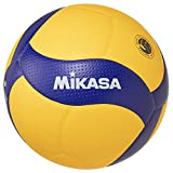 MIKASA Volleyball V200W-ÖVV V200W-ÖVV-Pelota de Voleibol, Azul y Amarillo, 5