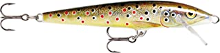 Rapala Original Floater 09 Fishing lure, 3.5-Inch, Brown Trout