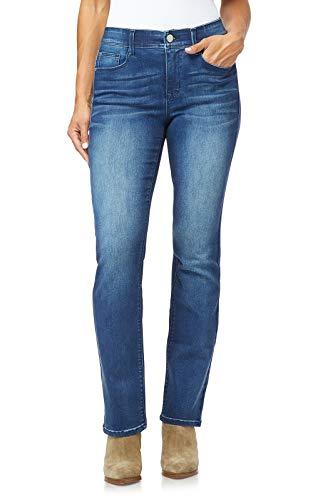 Angels Forever Young Women's Size 360 Sculpt Bootcut Jeans, Orchard, 18 Plus