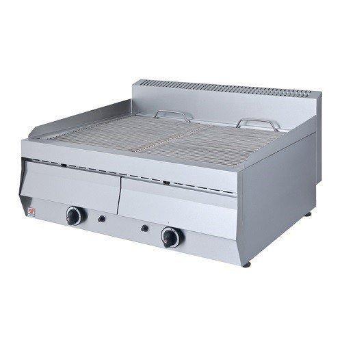 North Pro T702Gas Grill 22kW mit Wasser Schublade–LxBxH: 765x 700x 460mm (Made in Griechenland)