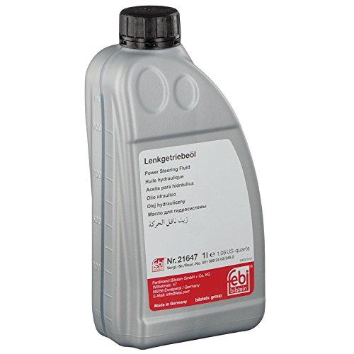 febi bilstein 21647 Hydrauliköl für Servolenkung (grün) 1 Liter