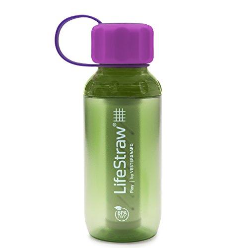LifeStraw Play Trinkflasche mit 2-Stufen-Filter für Kinder 300 mL versch. Farben Lime