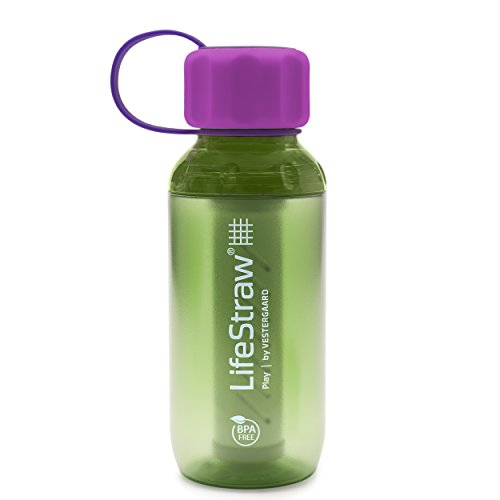 LifeStraw Wasserfilter Kunststoff 006-6002129 Play 2-Stufig (Lime)