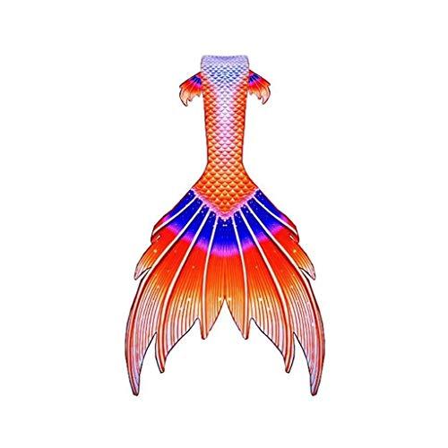 Costume da Bagno per Ragazze con Coda di Sirena Coda di Sirena per Coda da Sirena Monopinna Ottimo per Le Vacanze al Mare Costume da Bagno Sirena Personalizzato (Color : Style-P, Size : Tailored)