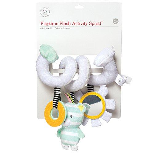 Manhattan Toy Playtime Plush Soft Activity Spiral Bear
