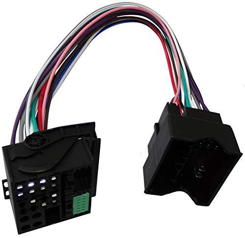Aerzetix - Adattatore convertitore cavo autoradio spina 40pin-52pin Quadlock per RNS315 RNS510 con MIB MQB - C40111