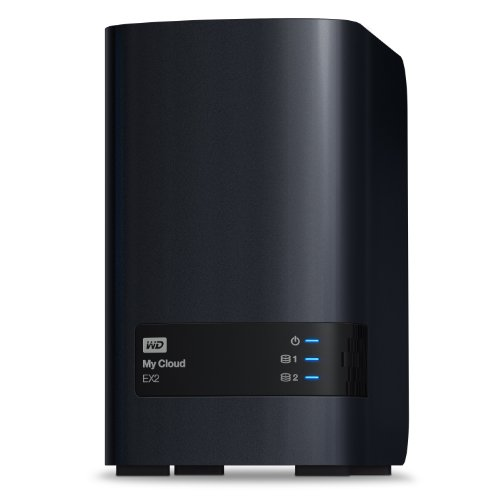 WD 8TB My Cloud EX2 Network Attached Storage - NAS - WDBVKW0080JCH-NESN