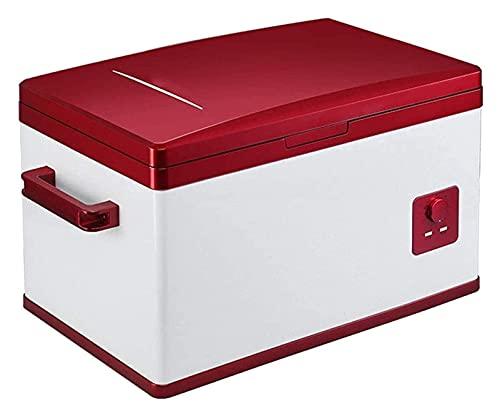 FDSZ Mini refrigerador, compresor de refrigerador de automóviles de 40 l de Gran Capacidad, refrigerador pequeño, refrigeración y congelación, Doble Uso para automóviles y hogares
