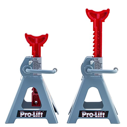 Pro-LifT T-6903D Double Pin Jack Stand - 3 Ton, 1 Pack