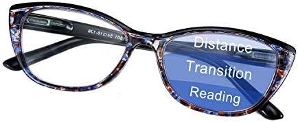 FEISEDY Progressive Multifocus Blue Light Blocking Reading Glasses No Line Multifocal Readers product image