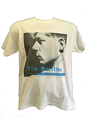 The Smiths Hatful of Hollow - Camiseta de manga corta, color blanco