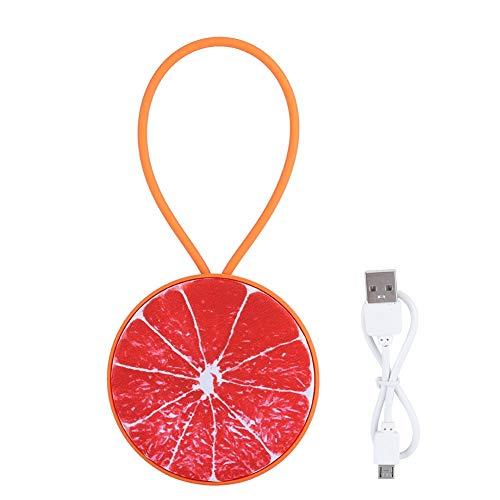 Wendry Draadloze bluetooth-luidspreker, 3D-stereo-USB-muziekspeler, mini-draagbare Bluetooth V4.2, luidspreker in fruitvorm, Honing Pomelo