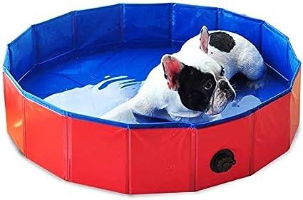 Piscina de plástico duro for los niños del perro casero plegable de PVC baño de ducha Bañera de hidromasaje Pet Wash piscina agua de estanque interior al aire libre de la Pequeña Mediana Perros Gatos