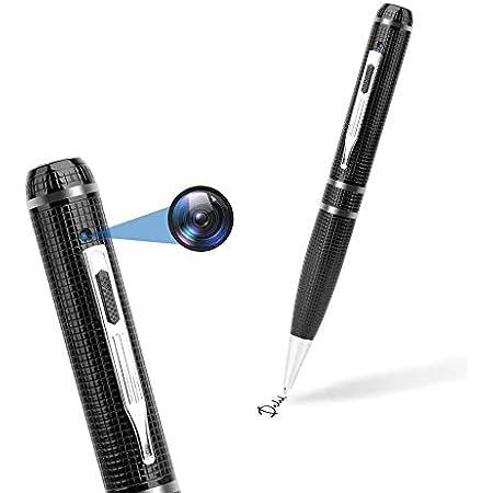 kunkin Pen Camera 1080P HD Tiny Camera Pocket Video Pen Support Photo Taking Mini Camera Pen with Video Recording Small Surveillance Pen