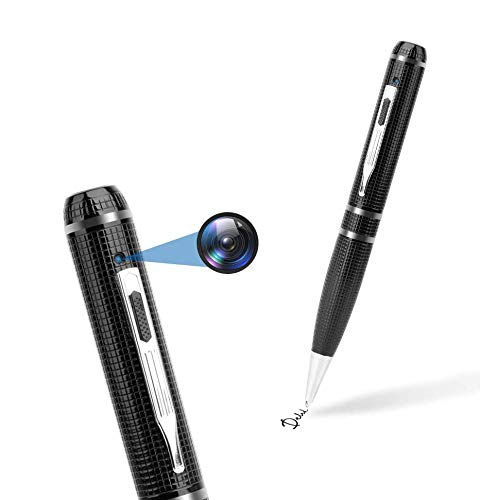 Hidden Camera Pen 32GB,FUVISION Full HD 1080P Spy Pen Camera Camcorder with Photo Taking,2 Hours...