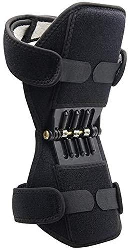 HLR kniebeschermer voor medische knieën, sterke voorspanning van de veer, verstelbaar, bidirectionele riem voor gewrichtspijn, verlichting van artritis, scheuren van meniscusscheuren, tendinitis osteoartritis.