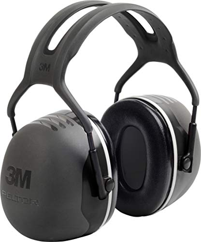 3M PELTOR X5A Over-the-Head Ear Muffs, Noise Protection, NRR 31 dB, Construction, Manufacturing,...
