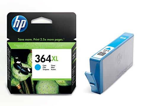 HP 364XL Blau Original Druckerpatrone mit hoher Reichweite für HP OfficeJet, DeskJet, Photosmart