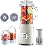 Multi Blender procesador de alimentos licuadora, batidora eléctrica fácil de limpiar con silencioso motor BPA-libre for la...