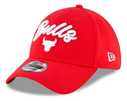 New Era - NBA Chicago Bulls 2020 Draft Edition Alternative 39Thirty Stretch Cap - Rot Farbe Rot, Größe M-L
